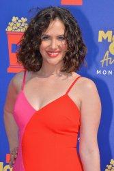 Kate Siegel attends the MTV Movie & TV Awards in Santa Monica, California