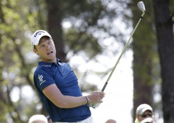 Danny Willett at the 2018 Masters in Augusta