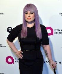 Kelly Osbourne attends the Elton John Aids Foundation Oscar viewing party