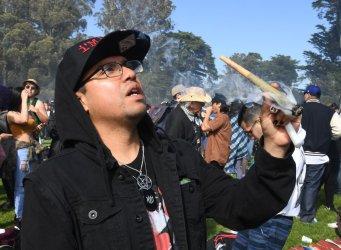 Annual 420 smoke in San Francisco