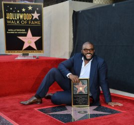 Tyler Perry receives star on Hollywood Walk of Fame in Los Angeles