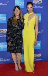 Patty Jenkins and Gal Gadot attend the Palm Springs International Film Festival in Palm Springs