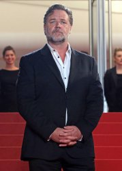 Russell Crowe attends the Cannes Film Festival