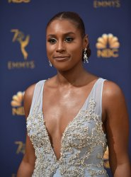 Issa Rae attends the 70th annual Primetime Emmy Awards in Los Angeles