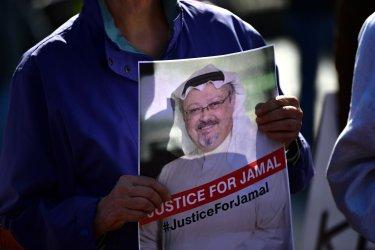 Khashoggi Protest at the White House