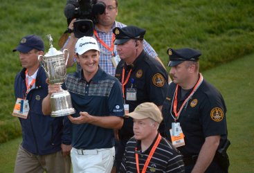 Round Four of the US Open in Ardmore, Pennsylvania