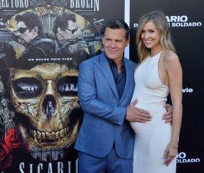 "Josh Brolin and Kathryn Boyd attend the ""Sicario: Day of the Soldado"" premiere in Los Angeles"