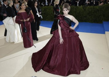 Lena Dunham at the Met Costume Institute Benefit