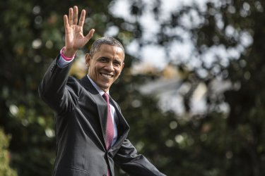 Obama Departs White House en route to New Hampshire
