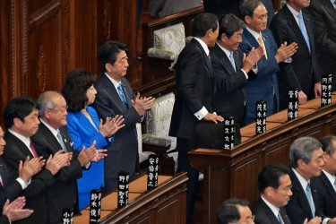 Lower House Dissolution in Japan