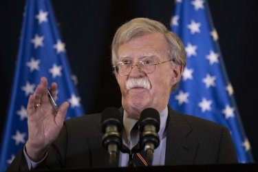 U.S. National Security Adviser John Bolton Speaks in Israel