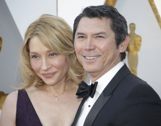 Lou Diamond Phillips at the 90th Annual Academy Awards in Hollywood