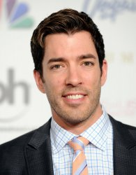 Drew Scott arrives at the 2013 Miss USA competition in Las Vegas