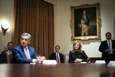 President Trump meets with Healthcare Executives at the White House