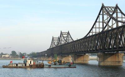 Trade continues between North Korea and Dandong