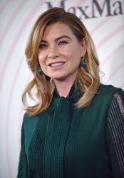 Ellen Pompeo attends Crystal + Lucy Awards in Beverly Hills