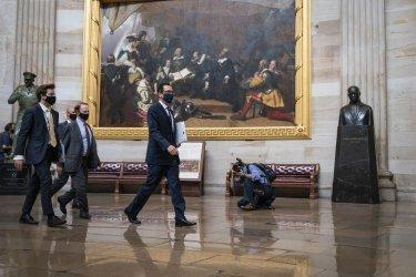 Mnuchin Negotiates with Schumer and Pelosi