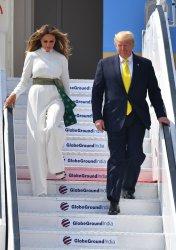 Trump Arrives in India
