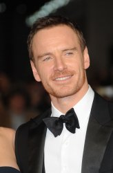 "Michael Fassbender attends a screening of ""Steve Jobs"" in London"