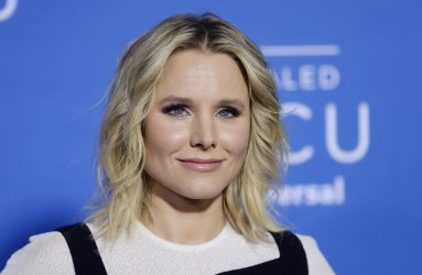 Kristen Bell at the 2017 NBCUniversal Upfront