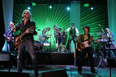 Hall and Oates perform in concert in Pompano Beach, Florida
