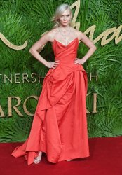 Karlie Kloss attends the Fashion Theatre Awards at Royal Albert Hall, London.