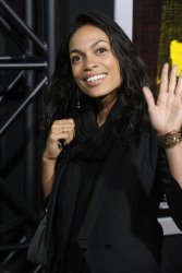 "Rosario Dawson attends the premiere of the film ""Marley"" in Los Angeles"