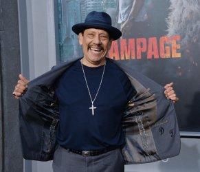 "Danny Trejo attends the ""Rampage"" premiere in Los Angeles"