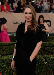 Elizabeth Marvel attends the 22nd annual Screen Actors Guild Awards