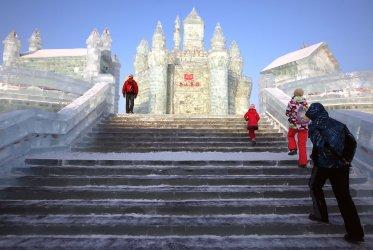 Ice Festival opens in Harbin