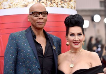 Michelle Visage and RuPaul attend the 2017 MTV Movie & TV Awards in Los Angeles