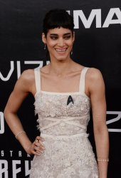 "Sofia Boutella attends the ""Star Trek Beyond"" premiere in San Diego"