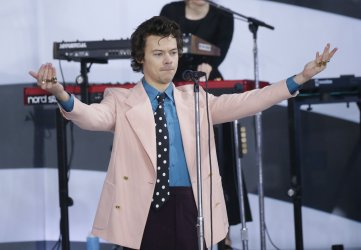 Harry Styles performs on NBC Today Show