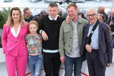 """The team from """"Sorry We Missed You"""" attends the Cannes Film Festival"""