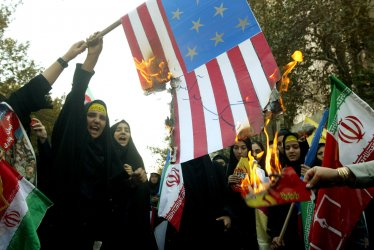 Embassy storming anniversary in Iran