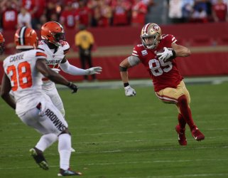 San Francisco 49ers beat Cleveland Browns on MNF