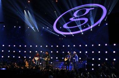 Garth Brooks at the 2017 CMA Awards in Nashville