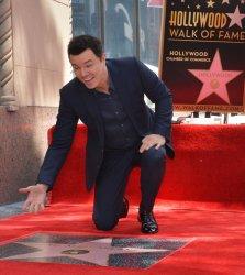 Seth MacFarlane gets star on Hollywood Walk of Fame in Los Angeles