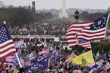 Trump Supporters Protest Certification of President-elect Biden