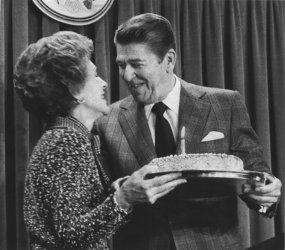 Former President Ronald Reagan turns 72
