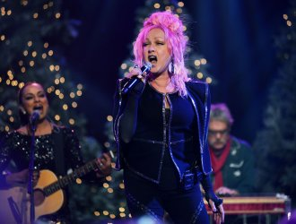 Cyndi Lauper attends 85th Annual Hollywood Christmas Parade