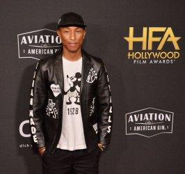Pharrell Williams attends the Hollywood Film Awards in Beverly Hills