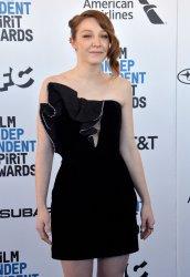 Kayli Carter attends Film Independent Spirit Awards in Santa Monica