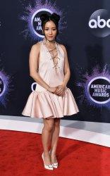 Constance Wu attends American Music Awards in LA