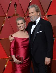 Jeff Bridges and Susan Bridges arrive for the 89th annual Academy Awards in Hollywood