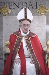 Pope Francis celebrates Palm Sunday at the Vatican