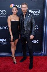 Jessica Ledon and David Guetta attend the 2019 Billboard Music Awards in Las Vegas