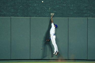 Red Sox Rafael Devers Hits a Home Run over Royals Michael A. Taylor