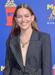 Victoria Pedretti attends the MTV Movie & TV Awards in Santa Monica, California