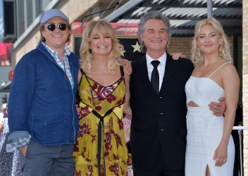 Hawn and Russell honored with stars on Hollywood Walk of Fame